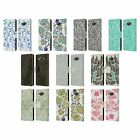 CAT COQUILLETTE PATTERNS 3 LEATHER BOOK WALLET CASE COVER FOR SAMSUNG PHONES 2