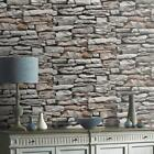 Moroccan Wall Grey Stone Wallpaper By Arthouse 623000
