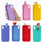 BTS BT21 Official MD by Line Friends - ONLY for iPhone Figure Silicone Case