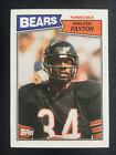 1987 Topps Non Auto Vintage Base Walter Payon BEARS Great Centering!