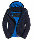 New Mens Superdry Pop Zip Hooded Arctic SD-Windcheater Jacket Deep Marine