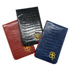 Golf Scorecard Holder PU Leather with 2 Score Sheets Deluxe  Yardage Book Cover