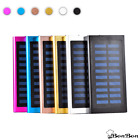 Ultrathin 20000mAh Solar Portable Visible Battery Charger Power Bank - USA