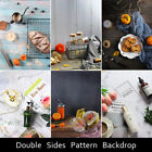 Внешний вид - Double Sides Wood-Pattern Photography Backdrop Background Paper For Food Baking