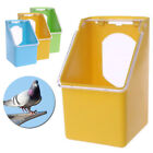 Bird Parrot Food Water Bowl Cups Pigeons Pet Cage Sand Cup Feeder Feeding Box