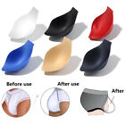 Men push up cup pad pouch front enhancement swimwear briefs enlarge protect