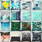 Geometric Printed Polyester Throw Pillow Case Sofa Cushion Cover Home Decor Gift