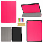 """For Huawei MediaPad T3 7"""" 8"""" 10"""" Tablet Folio Slim Leather Case Flip Stand Cover"""