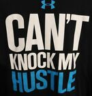 Under Armour Mens Black Size Large Cant Knock My Hustle T-Shirt #29