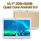 10.1'' Tablet PC Android 7.11 Deca-Core 64GB 10Inch HD WIFI 2 SIM 3G Phablet