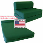 Hunter 6 x 32 x 70 Sleeper Chair Folding Foam Beds, Foam 1.8 lb Density Sofa Bed
