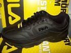 Fila Women's Memory Workshift Slip-Resistant Sneaker 5ISG0002-001 All Black Med