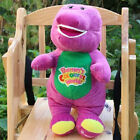 "Barney The Dinosaur Sing I LOVE YOU song Purple 12""Plush Soft Doll Gift"
