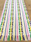 Mexican Fabric Table Runner - BESTSELLER colorful white