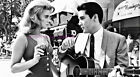 ANN MARGRET & ELVIS PRESELY OUTSIDE THE FABULOUS FLAMINGO HOTEL 8.5 X 11 PHOTO