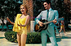 ANN MARGRET IN YELLOW BATHING SUIT & ELVIS PRESELY PLAYS GUITAR 8.5X11 PHOTO