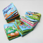 Внешний вид - Small Baby Shower Bath English Cartoon Animal Cloth Book Education Games Toy New