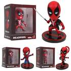 13cm Marvel Comics Deadpool / Spidermen With Stand PVC Action Figure Toy Gift