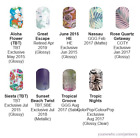 Tropical & Vacation ~ Jamberry nail wraps ~ HALF sheets ~ revised 6/10