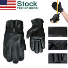 Внешний вид - Outdoor Rock Climbing Cowhide Gloves Full Finger Rappel Fast Rope Rescue Gloves