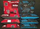 Set Of 8 Carolina Panthers NC Sate University Wolfpack Cornhole Bags FREE SHIP on eBay