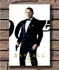 SKYFALL Movie James Bond 007 Dainel Craig P02 Poster Fabric 8 20x30 24x36 E-2699 $2.88 USD on eBay