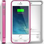 iPhone 5/ 5S/ SE 2400mAh Battery Charging Case External Power Bank Charger Cover