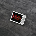 Netflix Streaming Sci-fi Thriller TV Stranger Things Title Enamel Pin Badge