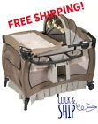 Baby Trend Deluxe Nursery Center Playard Play Pen Basinet Changing Table Bed