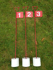 Design B Numbered Metal Professional JL Golf Putting Green Flag