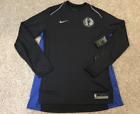 NIKE NBA DALLAS MAVERICKS AUTHENTIC GAME SHOOTING SHIRT NEW $90 SZ MED-LG-XL-4XL