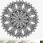 1x Vintage Mandala Wall Decal Yoga Vinyl Sticker Namaste Bohemian Art Home Decor