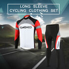 Spring Cycling Bike Long Sleeve Clothing Set Bicycle Men's Jersey