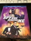 THE SPY WHO DUMPED ME Blu-ray/DVD (CASE,COVER, & ALL DISC)