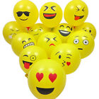 10-100PCS Emoji Face Latex Balloons Birthday Wedding Party Decor Supplies Yellow
