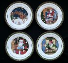 International China A Christmas Story Dinner Plates Set 4 Series 3 Susan Winget