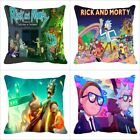 American Comedy sci-fi Anime Rick and Morty 18 Inch Pillow Cover Cushion Cover image