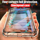 For iPhone 7  8 + X XS Max XR Knockproof Phone Case Transparent Clear Back Cover