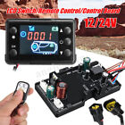 12V/24V Controller Board & LCD Switch + Remote Control For 5KW Diesel Air Heater