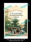 OLD LARGE HISTORIC PHOTO OF ELYRIA OHIO, THE GARFORD MOTOR CAR Co POSTER c1920