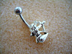 14g Belly Button Navel Ring MB 28 Archer Archery Kneeling Bow and Arrow Theme