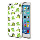 For Various Phones Design Hard Back Case Cover Skin - Mini Frogs