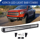 Straight DOT 42inch 240W LED Light Bar Spot Flood Jeep Ford Offroad Truck SUV