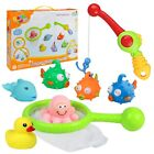 yoptote Bathtub Toys Fishing Game Bath Toys Squirt Tub Water Toys with Floating