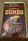 DUMBO 60th Anniversary Edition NEW FACTORY SEALED Walt Disney VHS Tape free ship