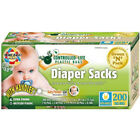 Eco-Friendly Bags Count Scented Baby Disposable Diaper Sacks - 200 Bags