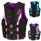 Life Vest Adult Woman Neoprene Life Jacket Water Sport Kayak Boat Fishing S M L