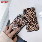 Fashion Leopard Print Phone Case For iphone XS Max XR X Case For iphone 6 6s 7 8