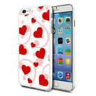 For Various Phones Design Hard Back Case Cover Skin - Mini Hearts