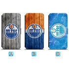 Edmonton Oilers Leather Case For iPhone X Xs Max Xr 7 8 Plus Galaxy S9 S8 $4.99 USD on eBay